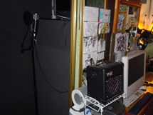 Creative station at Bobshack Studios